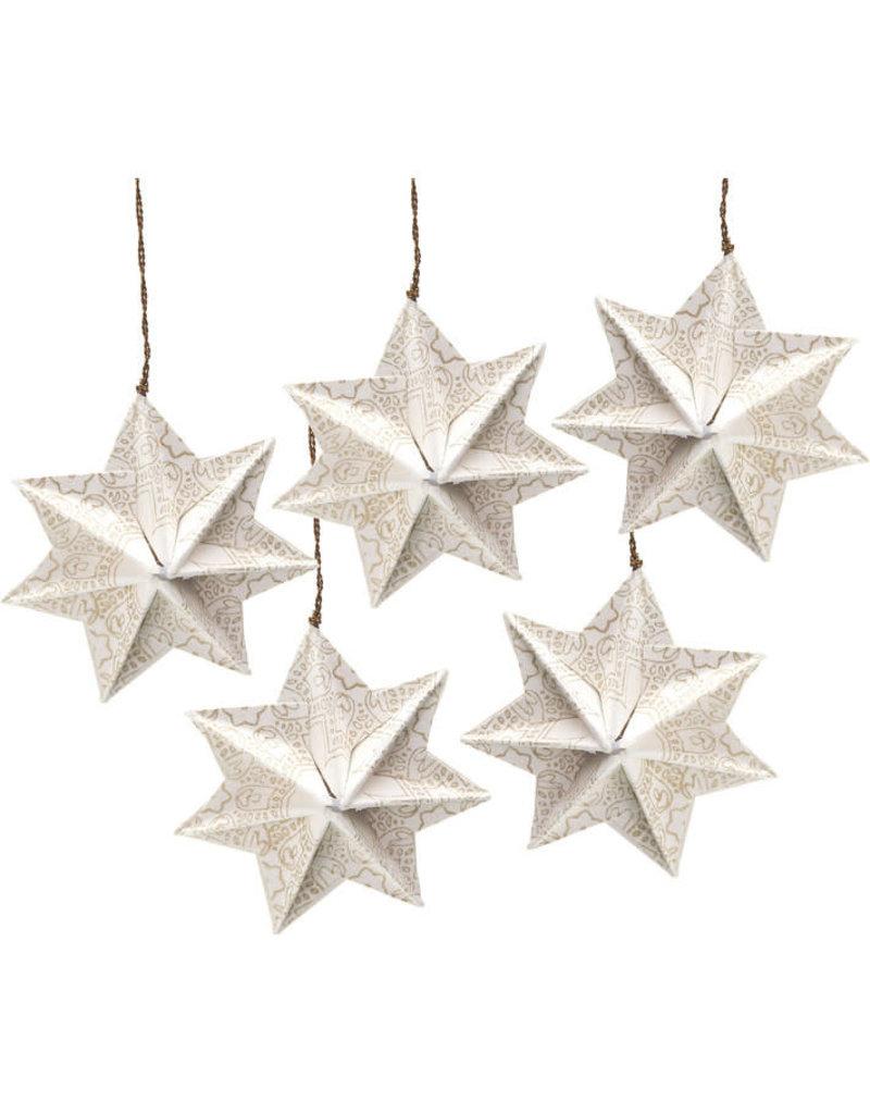 Prokritee Origami Paper Ornaments (Set of 5)