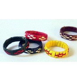 Prokritee Ring Assorted Colours Kaisa Grass