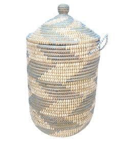 Dhaka Handicrafts Blue Chevron Kaisa Hamper