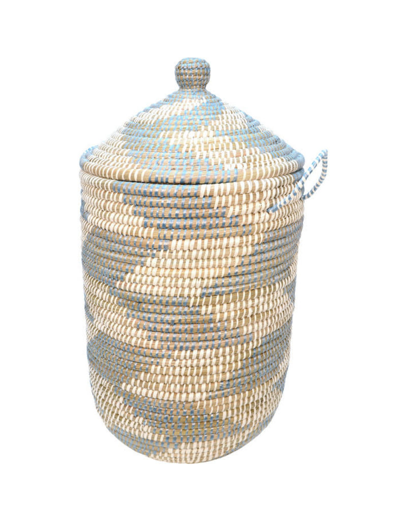 Dhaka Handicrafts Blue Chevron Kaisa Hamper