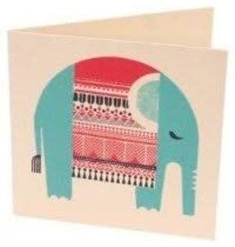 Saidpur Enterprises Resting Elephant Greeting Card