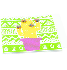Saidpur Enterprises Festive Cactus Greeting Card