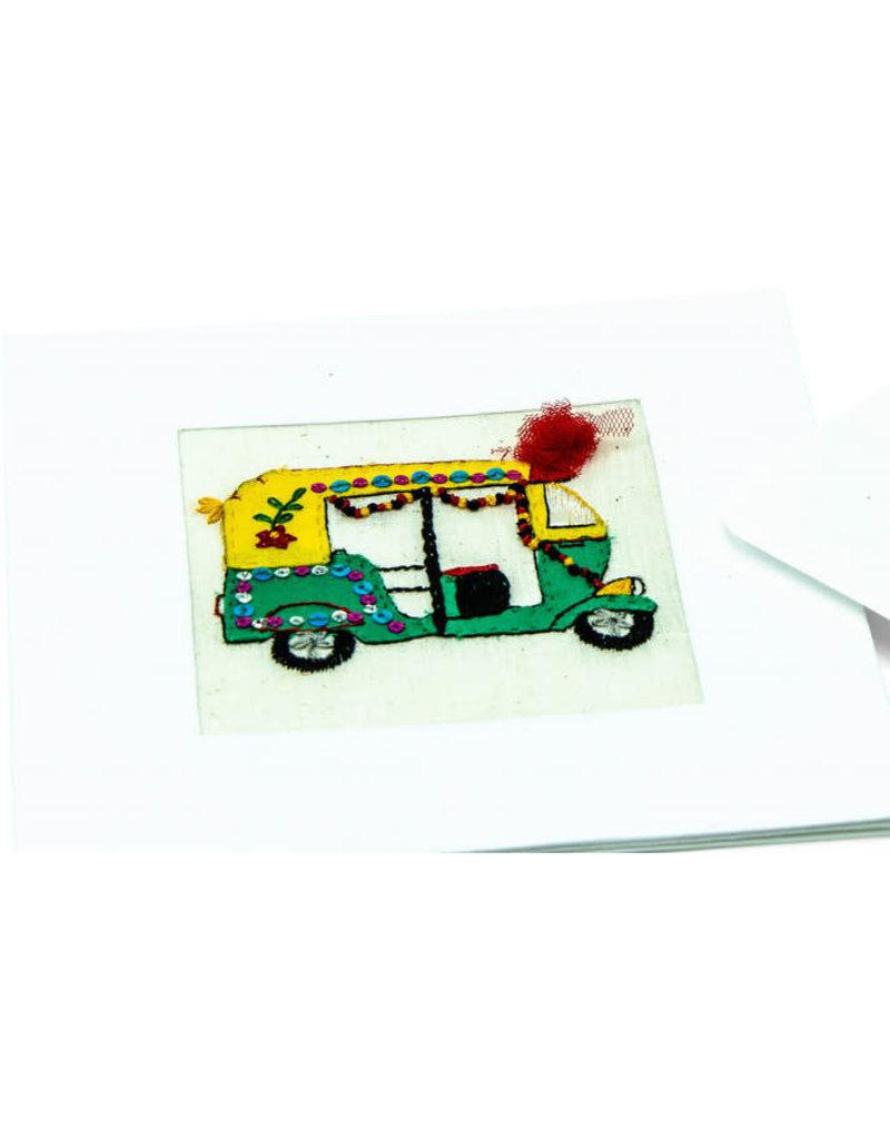 Swajan Rickshaw Greeting Card