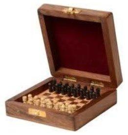 Matr Boomie Shesham Travel Chess Set