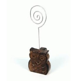Asha Handicrafts Watchful Owl Photo Holder