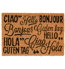 Asha Handicrafts Around The World Hello Doormat