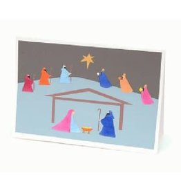 Silence North Star Nativity Holiday Card