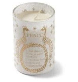 Silence Peace Soy Candle (White)