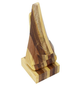 Asha Handicrafts Multi-Wood Nosey Spectacle Stand