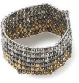 Asha Handicrafts Pumping Iron Bracelet