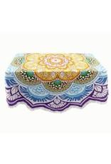 Asha Handicrafts Round Mandala Tablecloth