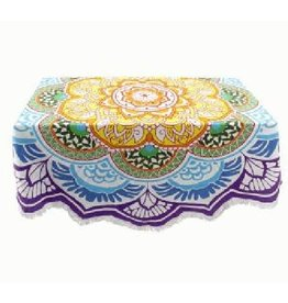 Asha Handicrafts Round Mandala Tablecloth