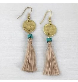 Asha Handicrafts Tassel Earrings