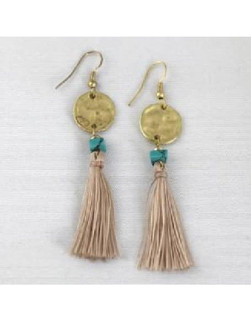 Asha Handicrafts Tassel Earrings