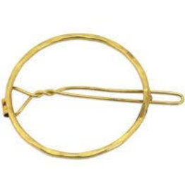 Asha Handicrafts Circle Of Kindness Hair Clip (Gold)