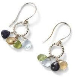 Asha Handicrafts Semiprecious Glitter Earrings