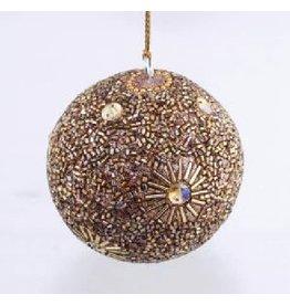 Asha Handicrafts Gold Beaded Ornament