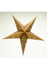 Asha Handicrafts Bronze Glitter Star