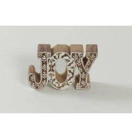 Asha Handicrafts Wooden JOY Cutout