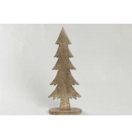 Asha Handicrafts Standing Gold Christmas Tree