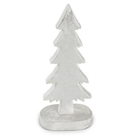 Asha Handicrafts Standing Silver Christmas Tree
