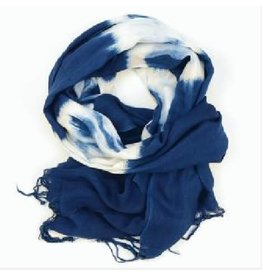 Sasha Association for Crafts Producers Free Sprit Indigo Scarf