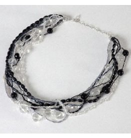 Sasha Association for Crafts Producers Frosty Beaded Necklace