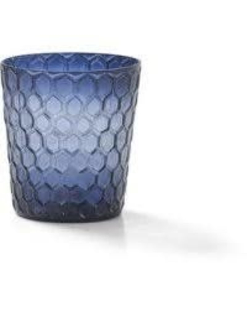 Sasha Association for Crafts Producers Huckleberry Honeycomb Candleholder