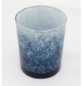 Sasha Association for Crafts Producers Marbled Storm Glass Candleholder