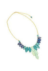 Sasha Association for Crafts Producers Cool Tones Beaded Necklace