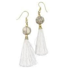 Sasha Association for Crafts Producers Crackle Bead Earrings
