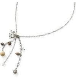 Sasha Association for Crafts Producers Elephant Charm Pendant Necklace