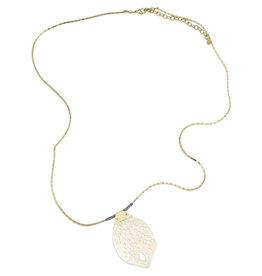 Sasha Association for Crafts Producers Bone Pendant Necklace