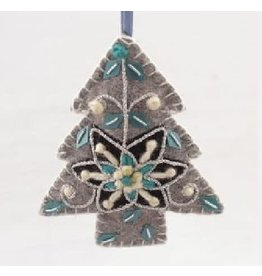 Sasha Association for Crafts Producers Grey Tree Ornament