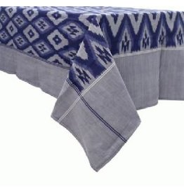 Craft Resource Center Royal Ikat Tablecloth