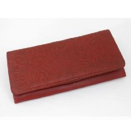 Craft Resource Center Racing Heart Leather Wallet