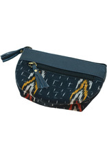 Craft Resource Center Ikat design leather pouch