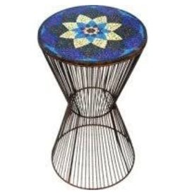 Noah's Ark Flower Mosaic Accent Table