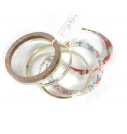 Noah's Ark Bangle Set of 5