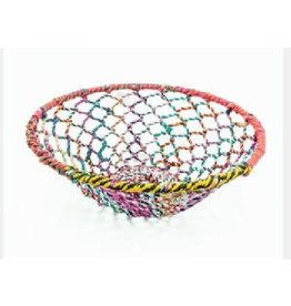 Noah's Ark Basket Multicolour Woven Thread/Wire Large