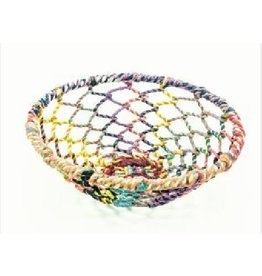 Noah's Ark Basket Multicolour Woven Thread/Wire Small