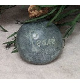 Tara Projects Paperweight PEACE Asst'd Shapes Palewa Stone
