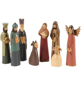 Pekerti Nusantara Antique Tones Nativity Set