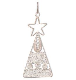 Pekerti Nusantara Filigree Christmas Tree Ornament