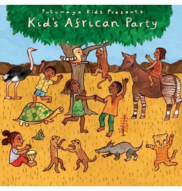 Putumayo Kids African Party CD