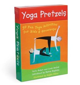 Educational Yoga Pretzels Card Deck