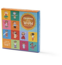 Educational Children of the World Memory Game