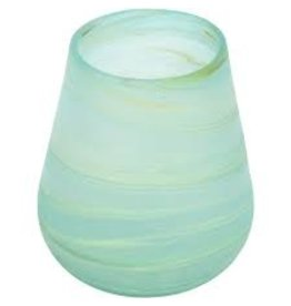Hebron Glass Aqua Phoenician Glass Tumbler