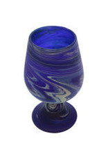 Hebron Glass Phoenician Wine Goblet