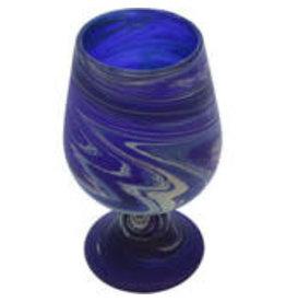 Hebron Glass Phoenician Wine Goblet